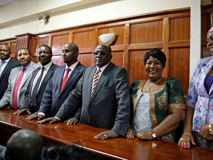 Reflecting on eight parliamentarians in a hole – JILL COTTRELL GHAI